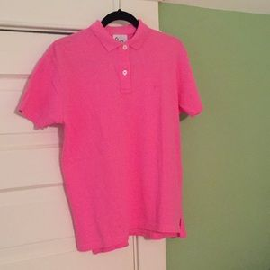 NWOT {Lilly Pulitzer) Pink Polo Shirt